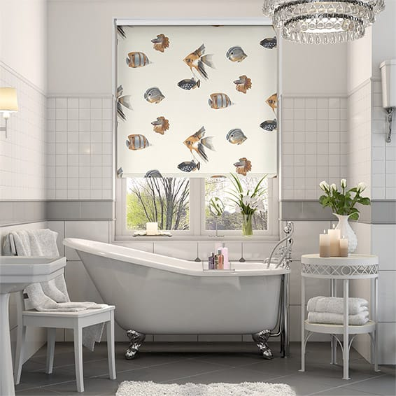 Splash Blackout Kamanu Amber Roller Blind