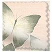 Kazuyo Border Faux Silk Blush Roman Blind swatch image