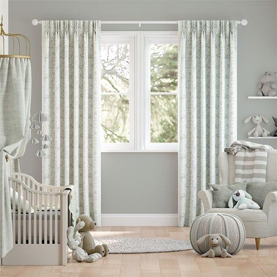 Kelda Dove Grey Curtains