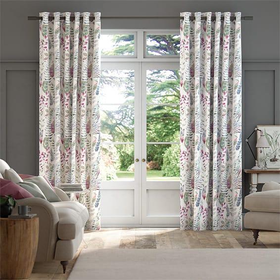 Kenton Loganberry Curtains