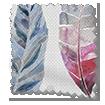 Kenton Loganberry Curtains swatch image