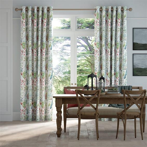 Kenton Pomegranate Curtains