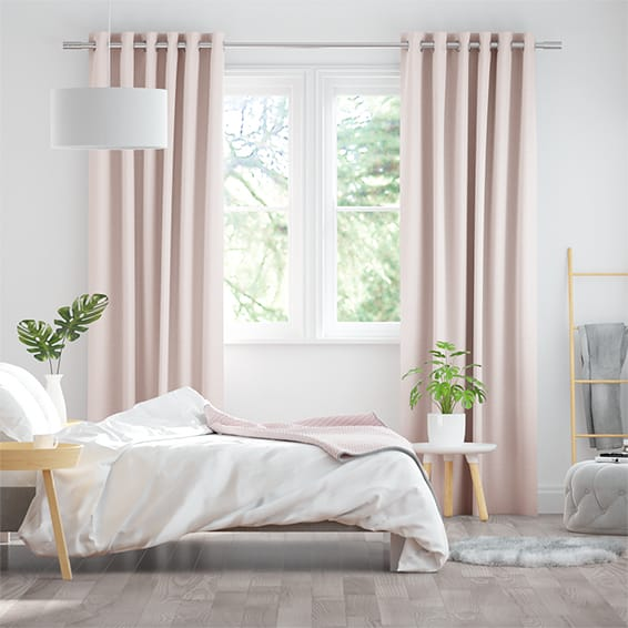 Kirkland Soft Pink Curtains