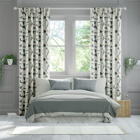 Kukka Slate Curtains
