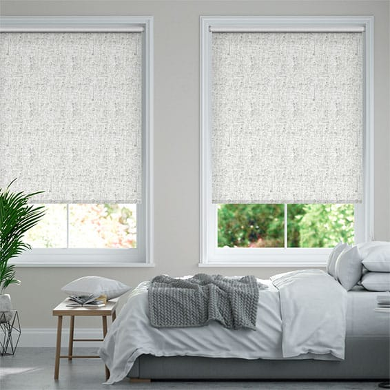Lancaster Blackout Birch Grey Roller Blind