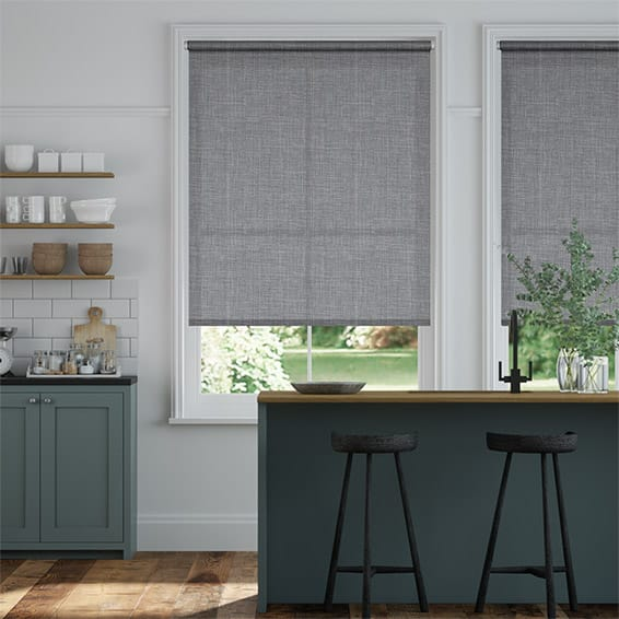 Laurent Steeple Grey  Roller Blind