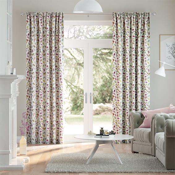 Leafy Grove Berry Curtains