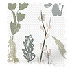 Leilani Morning Mist Curtains swatch image
