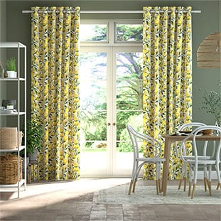 Lemons Yellow Curtains thumbnail image