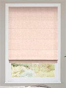 Leyton Pale Pink Roman Blind thumbnail image