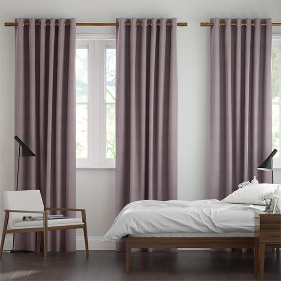 Leyton Royal Purple Curtains