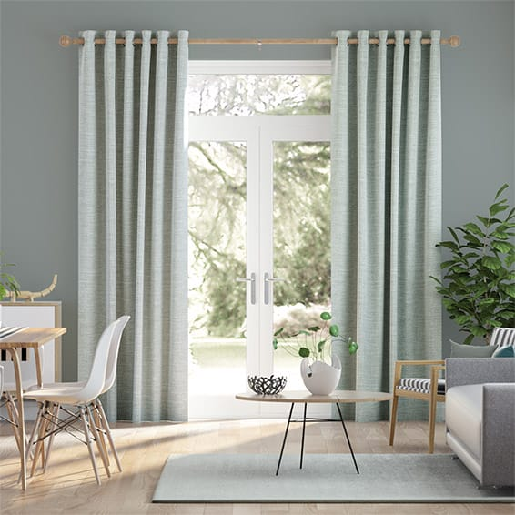 Liliana Aqua Curtains