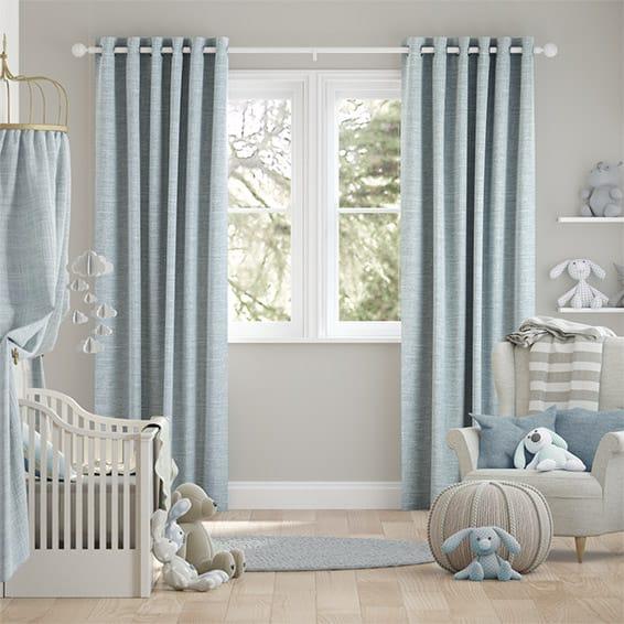 Liliana Summer Sky Curtains