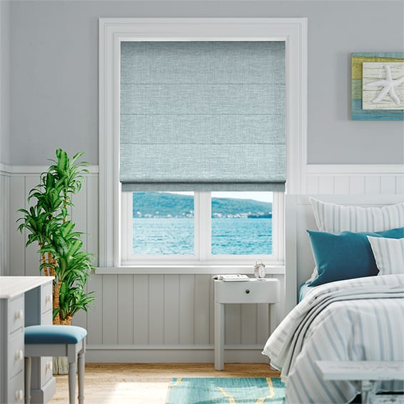 Liliana Summer Sky Roman Blind