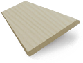 Limestone Madera Faux Wood Blind - 50mm Slat slat image