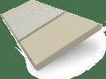 Limestone Suave & Platinum Faux Wood Blind - 50mm Slat slat image