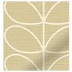 Linear Stem Latte Roller Blind swatch image