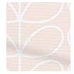 Linear Stem Pink Roller Blind swatch image