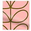 Linear Stem Summer Roller Blind swatch image