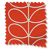 Linear Stem Tomato Roman Blind slat image