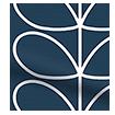 Linear Stem Whale Roller Blind sample image