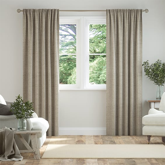 Linen Hopsack Curtains