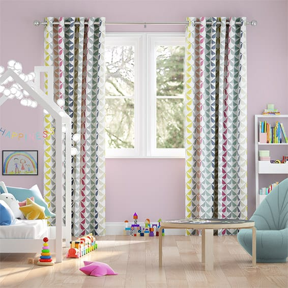 Lintu Berry Crush Curtains