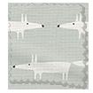 Little Mr Fox Slate Roman Blind swatch image
