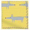 Little Mr Fox Sunflower Curtains swatch image