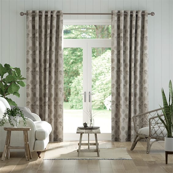 Little Orchard Natural Curtains
