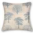 Little Orchard Soft Blue Curtains - Cushions