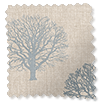 Little Orchard Soft Blue Curtains slat image