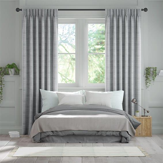 Lottie Chrome Curtains