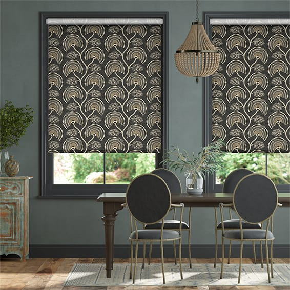 Louella Charcoal Roller Blind