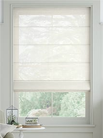 Lucent Voile Ivory Roman Blind thumbnail image