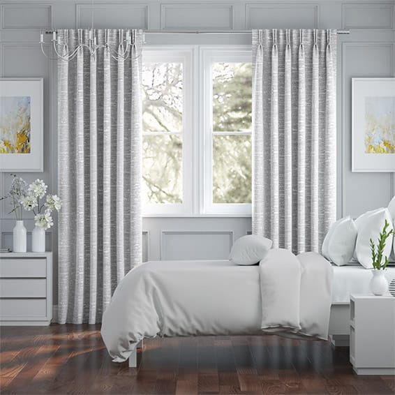 Lugano Silver Curtains