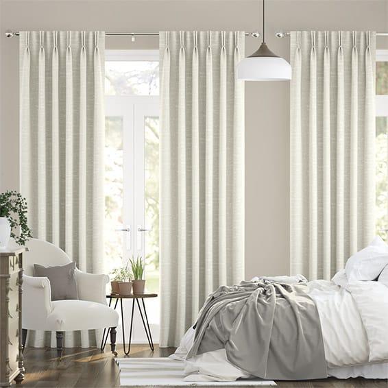 Lugano Vanilla Curtains