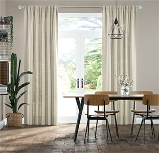 Lumiere Unlined Ahisma Luxe Faux Silk Gilt Curtains thumbnail image