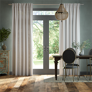 Lumiere Unlined Arlo Modern Grey Curtains thumbnail image