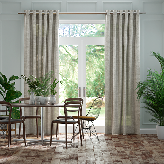 Lumiere Unlined Arlo Softest Grey Curtains