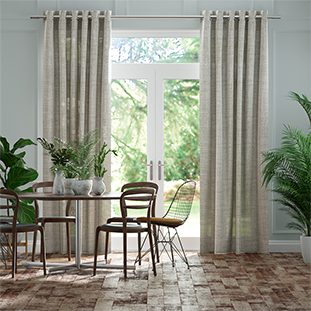 Lumiere Unlined Arlo Softest Grey Curtains thumbnail image