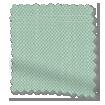 Lumiere Unlined Bijou Linen Aqua Curtains swatch image