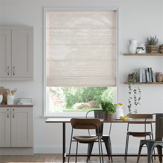 Lumiere Unlined Chalfont Natural Grey Roman Blind