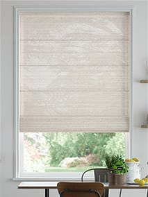 Lumiere Unlined Chalfont Natural Grey Roman Blind thumbnail image