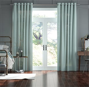Lumiere Unlined Chalfont Tropical Sea Curtains thumbnail image