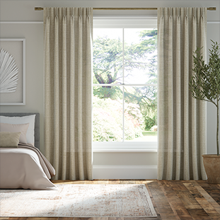 Lumiere Unlined Encanto Shimmering Gold Curtains thumbnail image