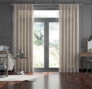 Lumiere Unlined Kosa Gilt Curtains thumbnail image