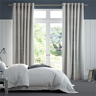 Lumiere Unlined Niko Antique Silver Curtains thumbnail image