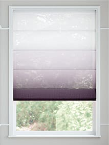 Lumiere Unlined Ombre Heather Roman Blind thumbnail image