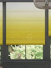 Lumiere Unlined Ombre Ochre Roman Blind thumbnail image